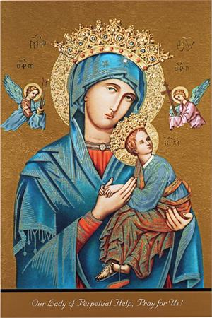 A high quality Our Lady of Perpetual Help picture.